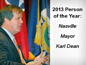 2013 Person of the Year - Nashville Mayor Karl Dean