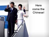 Here come the Chinese