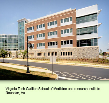 Virginia Tech Carilion School of Medicine and research Institute – Roanoke, Va.