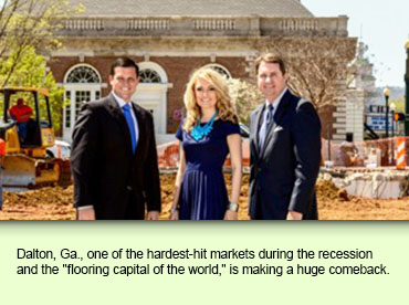 "Dalton, Ga., one of the hardest-hit markets during the recession and the ""flooring capital of the world,"" is making a huge comeback."