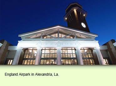 England Airpark in Alexandria, La.