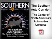 The Southern Auto Corridor