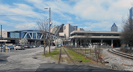 The Gulch in downtown Atlanta is a 120-acre site, and it is the primary site Atlanta leaders are promoting to Amazon for its second headquarters.
