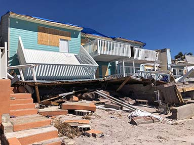 More than half of all apartments in Bay County, Fla., are still damaged and unlivable as a result of Hurricane Michael in October of 2018.