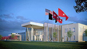 The U.S. Army broke ground on the $85 million first phase of its Army Cyber Command headquarters near Augusta, Ga.