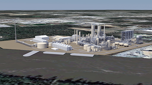 A $3.8 billion methanol project — LC Methanol — will be built on about 70 acres along the Calcasieu Ship Channel.