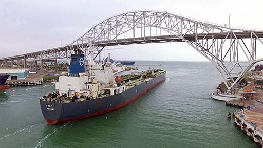 The Port of Corpus Christi is set to pass the Port of Houston as the top U.S. crude oil export hub over the next 10 years.