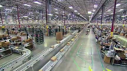 Thanks to Amazon and e-commerce, distribution is now king of the deal world in the South. Pictured is an Amazon warehouse.