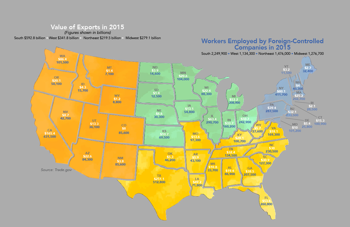Free USA Region PowerPoint Map Free PowerPoint Templates That - Map us midwest