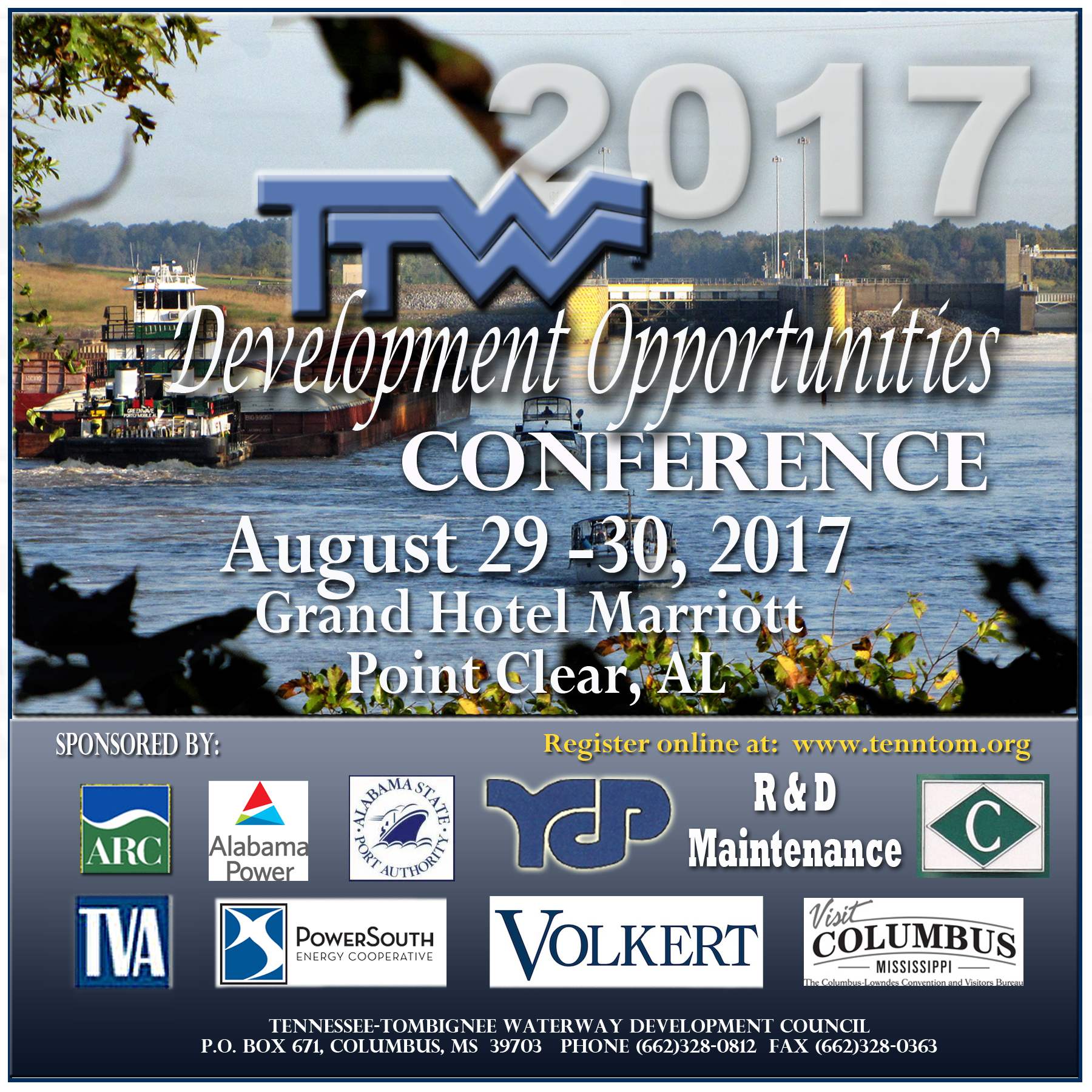 2017 Tenn Tomm Development Opportunities Conference. Click to register